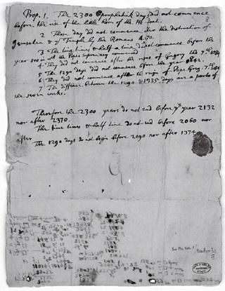 ニュートンの予言書