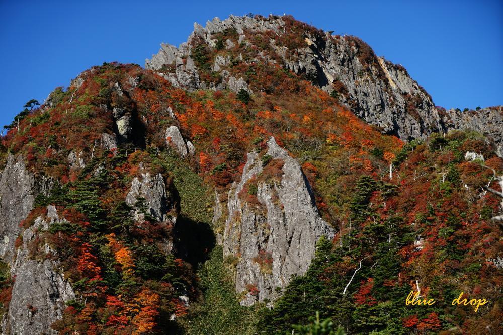 錦繡の南尖峰
