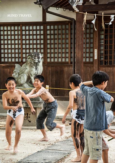 人麿神社 すすつけ祭