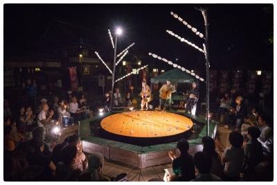 野外劇団 楽市楽座 高知2017年