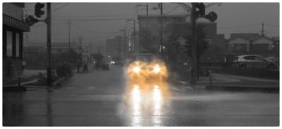 004 typhoon 18 高知市 20170917