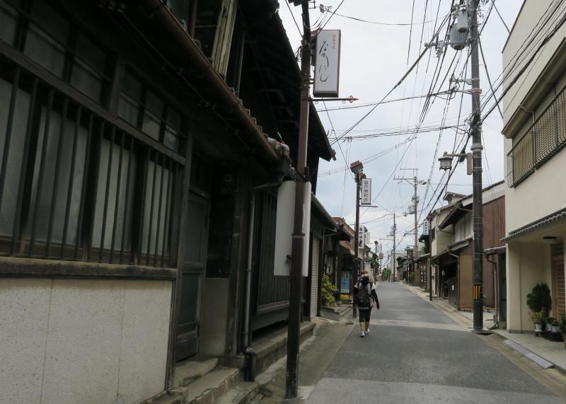 奈良町の通り