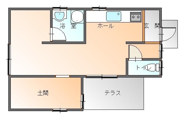 西ノ入 中古平屋 350万円