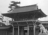 寒川神社随神門