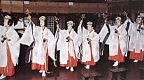 大山阿夫利神社巫女舞