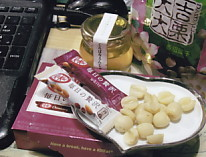 Akhサン蜂蜜チョコ中国菓子蓮実