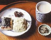 箱根甘酒茶屋甘酒とお餅
