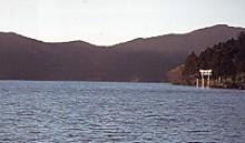 箱根芦ノ湖と鳥居