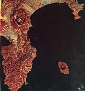 伊豆半島衛星画像