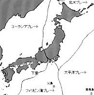 プレート日本付近2次元