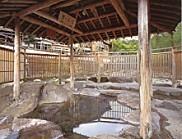 修善寺温泉独鈷の湯内部