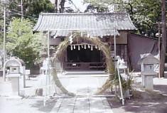 松尾神社夏越大祓茅の輪