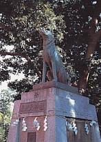 見付悉平太郎銅像