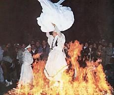 秋葉神社火祭り