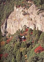 鳳来寺山鏡岩