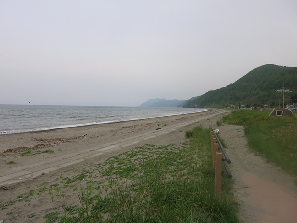 高岡オートキャンプ場 海岸
