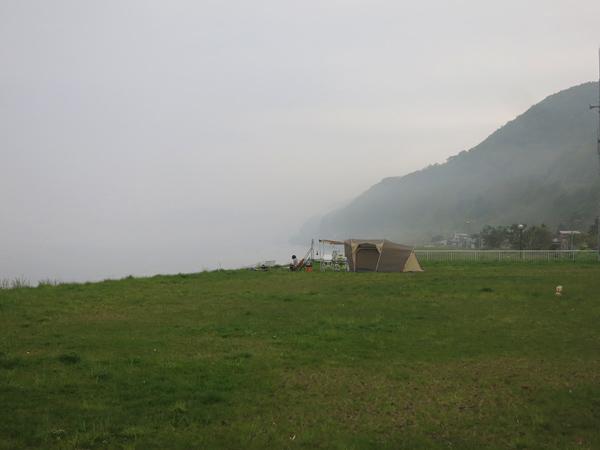 高岡オートキャンプ場 アルマディ6 霧