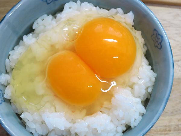 美味しい卵かけご飯 二黄卵
