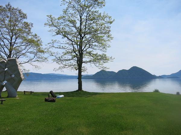 洞爺湖 曙公園 キャンプ地