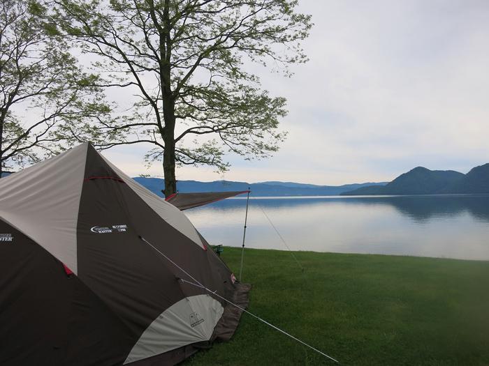 朝の洞爺湖 T.P.クレスト