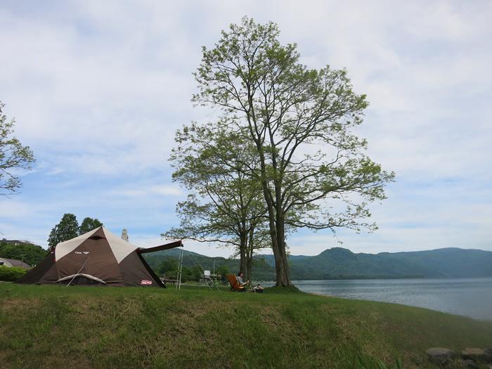 下から見た風景 T.P.クレスト