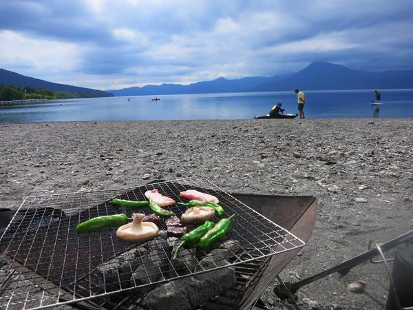 モラップキャンプ場 焼肉