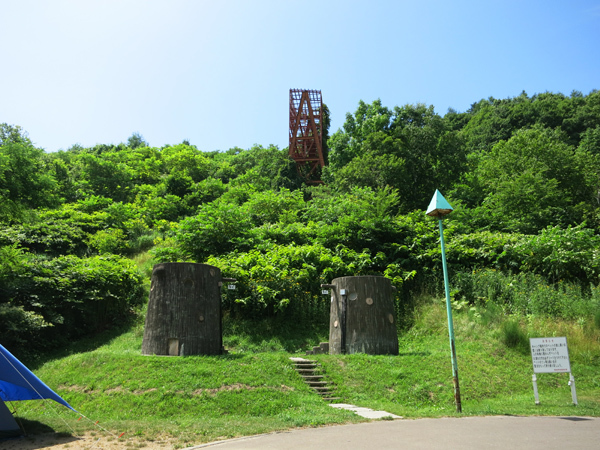 旭ヶ丘公園キャンプ場 トイレ