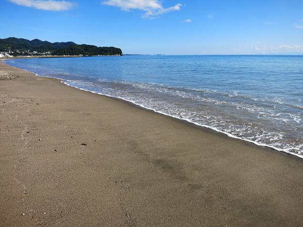 高岡オートキャンプ場  浜辺