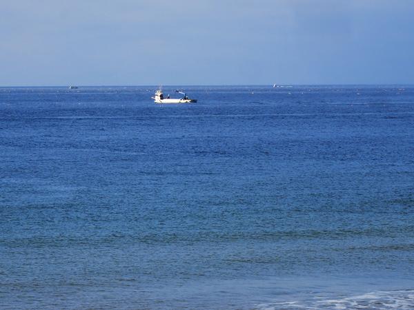 高岡オートキャンプ場  漁船