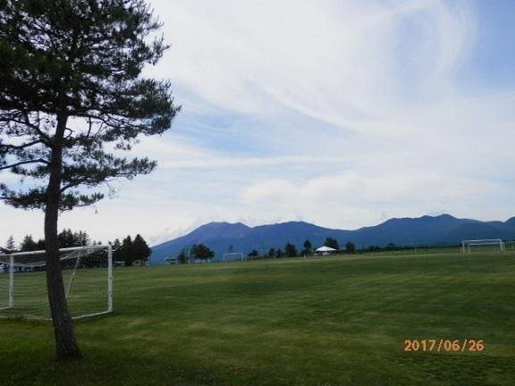バラギ高原よりの浅間山です。