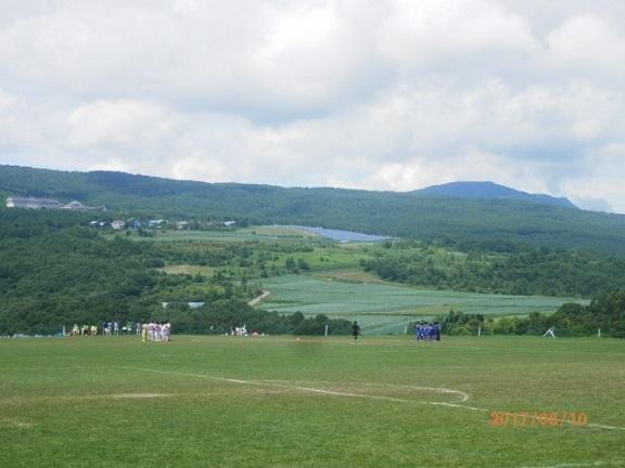 バラギ高原のサッカー合宿