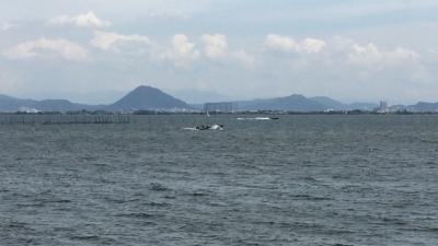 今日も琵琶湖は荒れてます!!(YouTubeムービー)