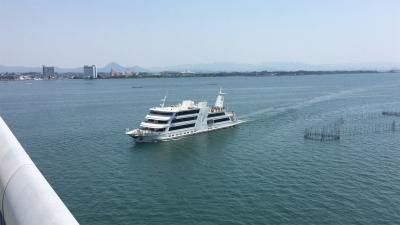 琵琶湖大橋を通過するビアンカ(YouTubeムービー)