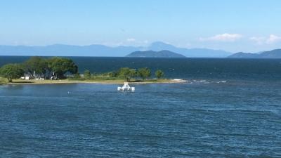 Facebookムービー 琵琶湖大橋西詰めから眺めた北湖(6月5日15時30分頃)