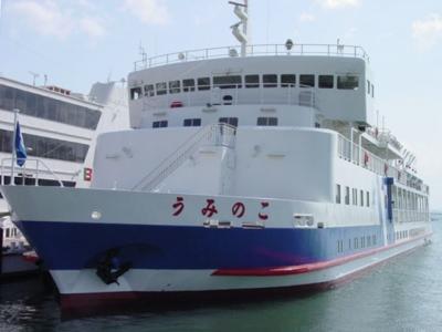 琵琶湖の環境学習船うみのこ