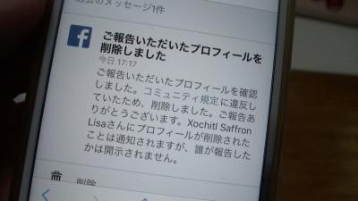 Facebookの偽アカウントを駆逐する方法(YouTubeムービー)