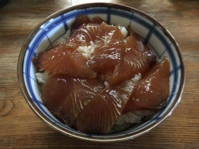 シイラのヅケ丼