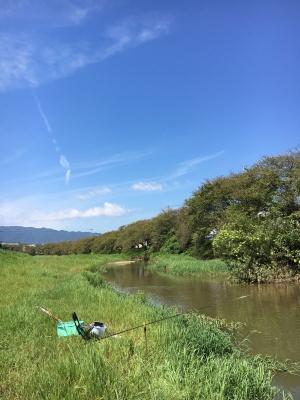 秋晴れの堅田付近(9月9日11時頃)