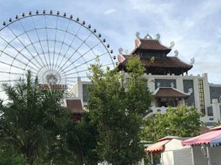 ダナン・アジアンパークのサンホイール