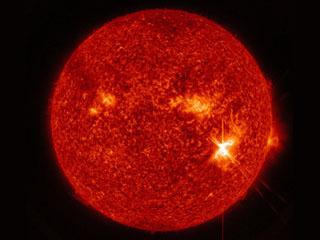 9月6日に発生した太陽フレア