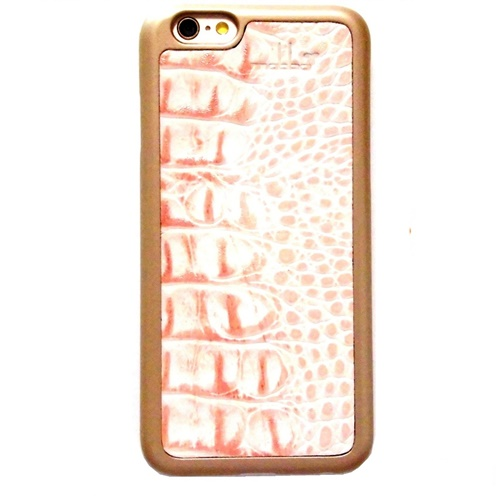 Der Rauber Coral iPhone 6 Case Kroko gold (2)1111