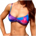 Sports Cross Back - Blue Purple Swirl