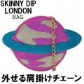 PINK PLANET CROSS BODY BAG1111