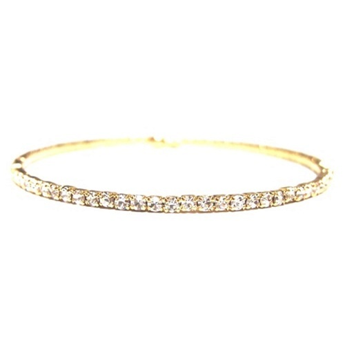 Single bangle yellow
