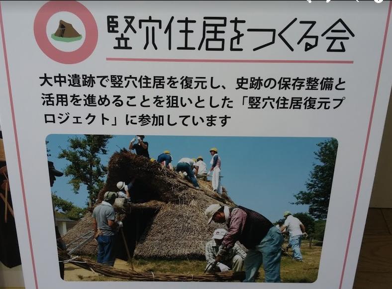 ⑩竪穴住居をつくる会