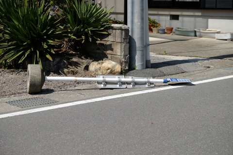 37足尾駅今日も風
