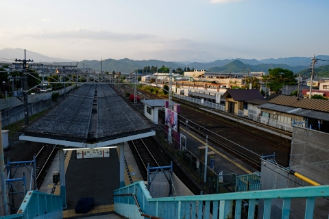 60わたらせ渓谷鐡道相生駅