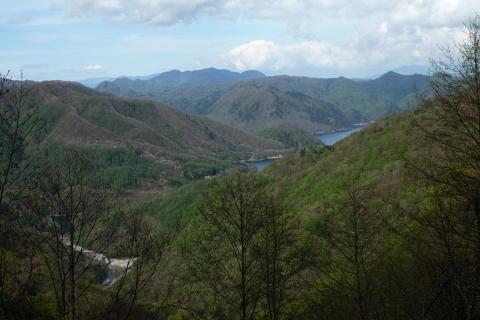 42川俣湖俯瞰