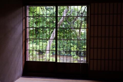 48松永記念館障子の窓