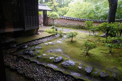 51松永記念館笠の庭